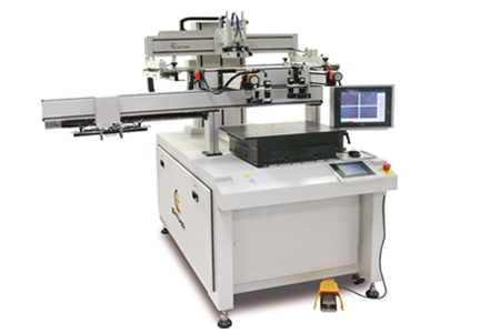 CCD平板玻璃居中對位網印機 / 東遠精技工業股份有限公司