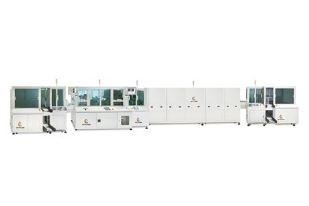 全自動平板玻璃網印機 / 東遠精技工業股份有限公司