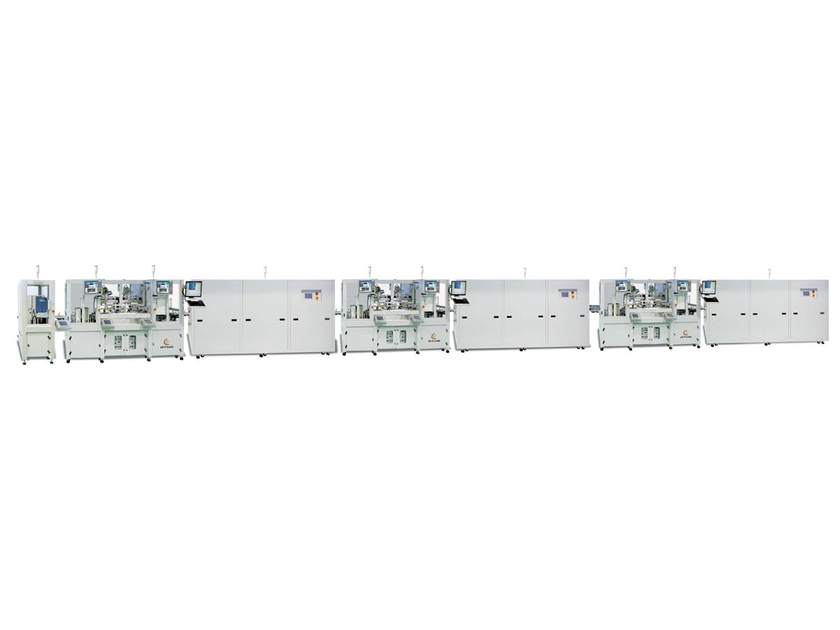 綠能矽晶片全自動網印生產線