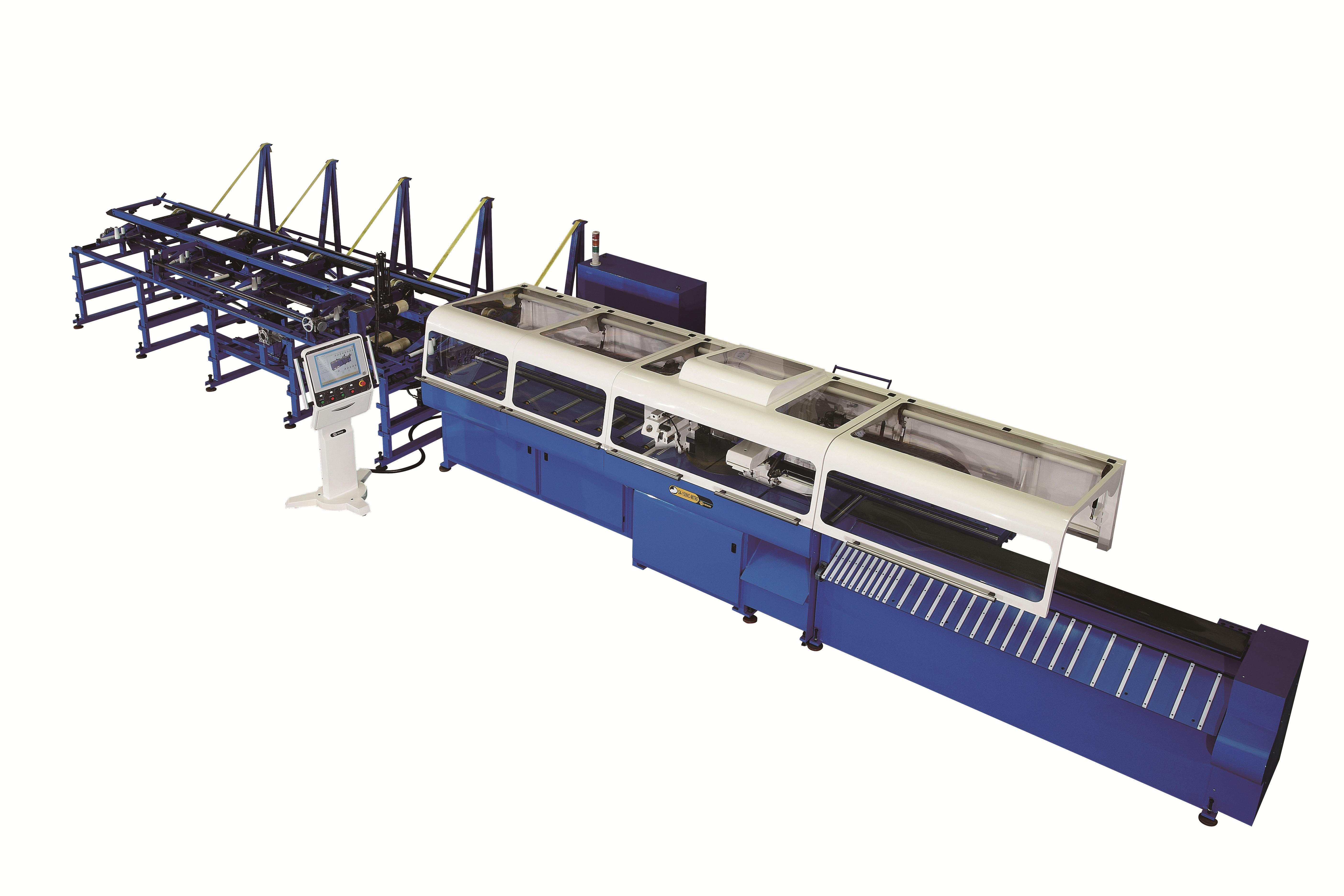 CNC 4軸智慧型切管機