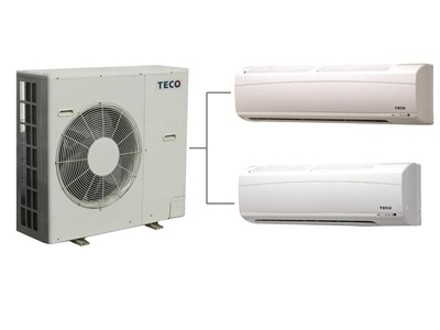Ultra-low-carbon energy, cloud intelligent composite twin inverter air conditioners / TECO ELECTRIC & MACHINERY CO., LTD.