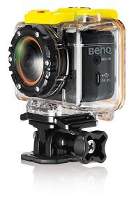 貼身無線遙控運動攝錄影機 / 明基電通股份有限公司