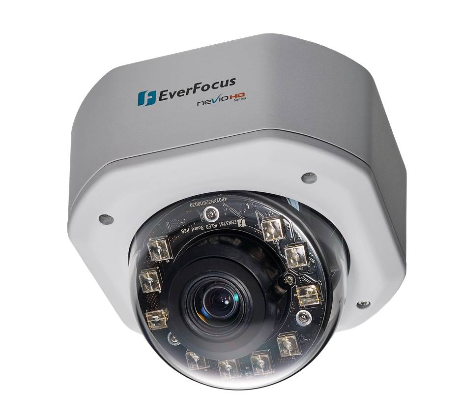 10X Zoom Lens IP Rugged Dome Camera / EverFocus Electronics Corp.