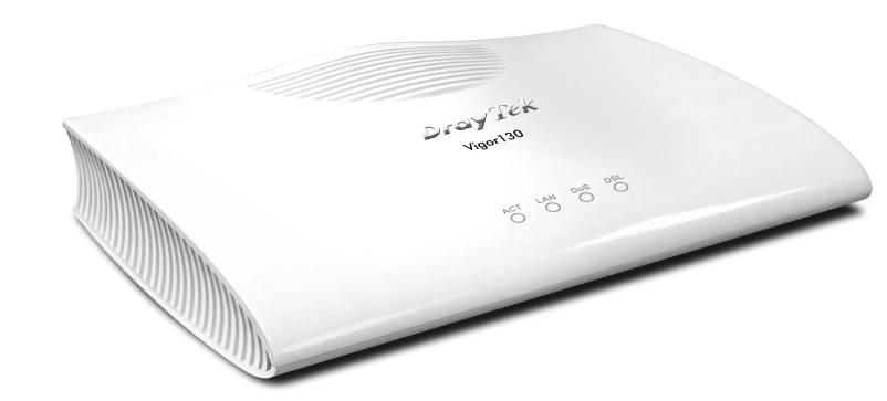 Vigor130 VDSL2/ADSL2/2+ Modem Router