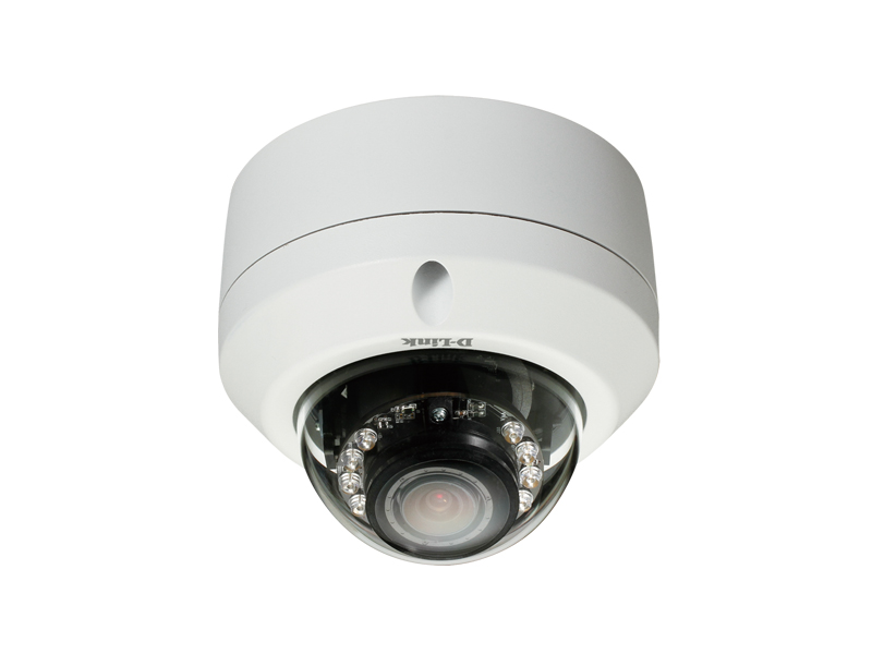 HD Day & Night Outdoor Dome Camera with Color Night Vision