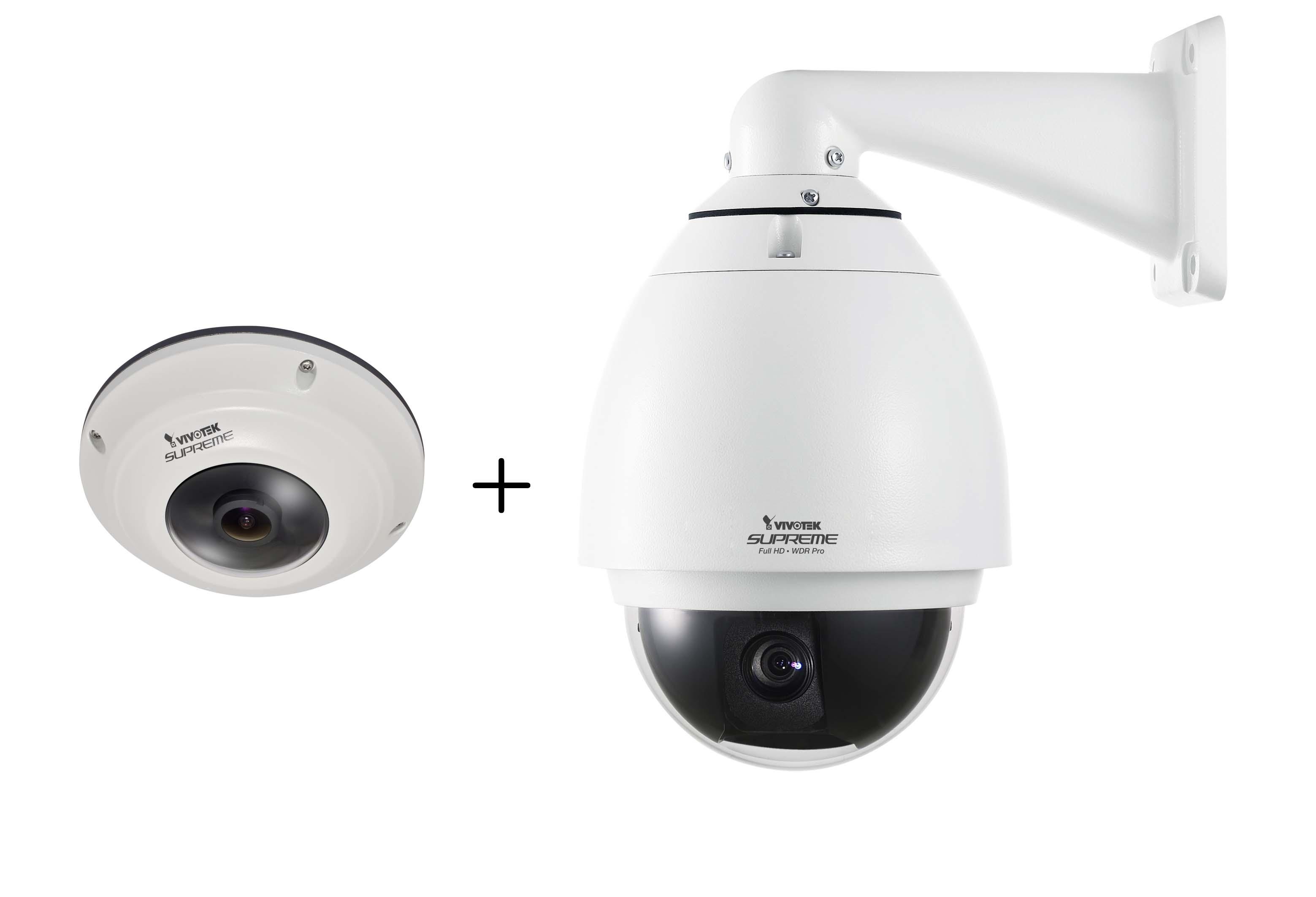 全景無縫PTZ網路攝影機 / 晶睿通訊股份有限公司