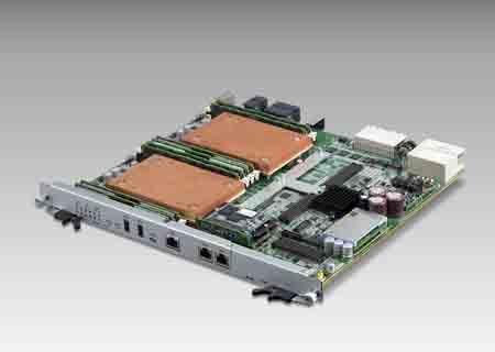 ATCA雙處理器先進通信主機板 / 研華股份有限公司