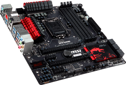 mATX High-end Gaming motherboard / MICRO-STAR INTERNATIONAL CO.,LTD.