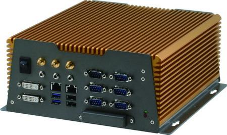 高擴充性工業級無風扇嵌入式電腦 / 研揚科技股份有限公司