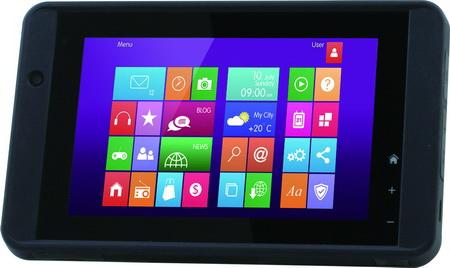 羽量軍規級手持式Windows 8平板電腦 / 研揚科技股份有限公司
