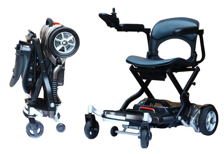 折疊攜帶式電動輪椅 Brio  / 台灣維順工業股份有限公司