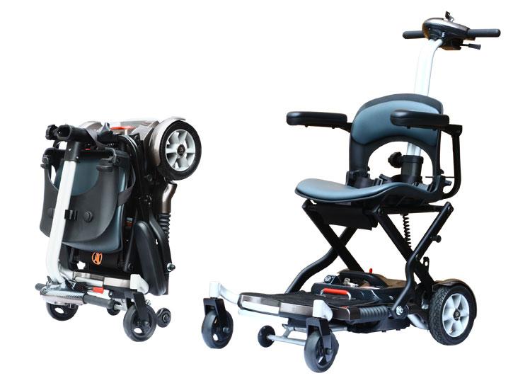 折疊看護型電動輪椅 Brio  / 台灣維順工業股份有限公司