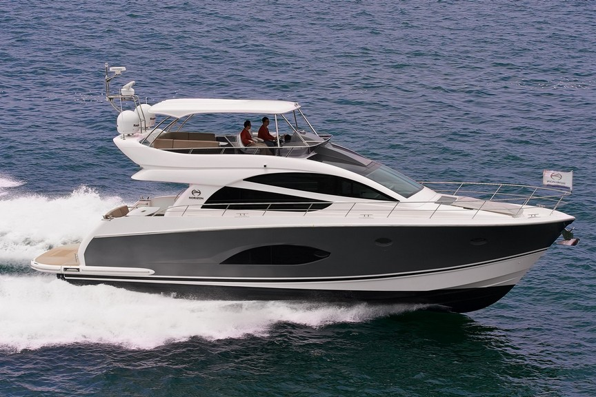 Horizon E56 Luxury Motor Yacht / Horizon Yacht Co., Ltd.