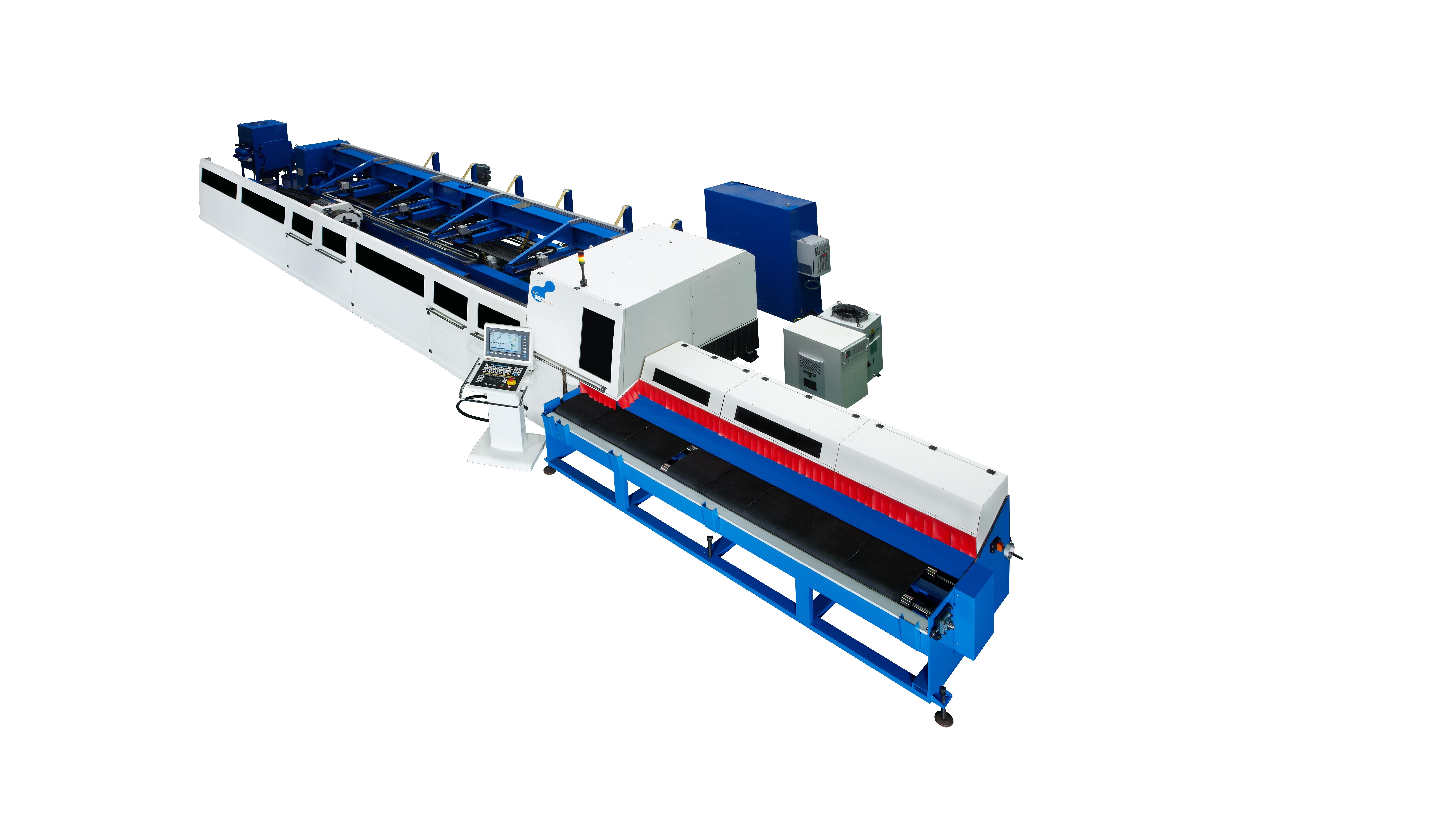 5軸光纖雷射切管機