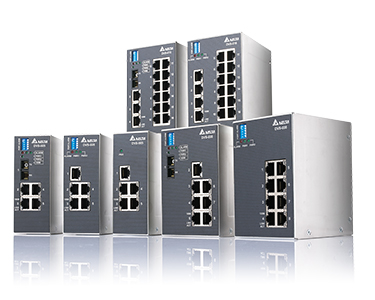 Delta Unmanaged Industrial Ethernet Switches DVS Series / DELTA ELECTRONICS, INC.