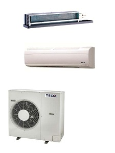 Intellgence residential heating and cooling energy saving one pair of five air-conditioners / TECO ELECTRIC & MACHINERY CO., LTD.