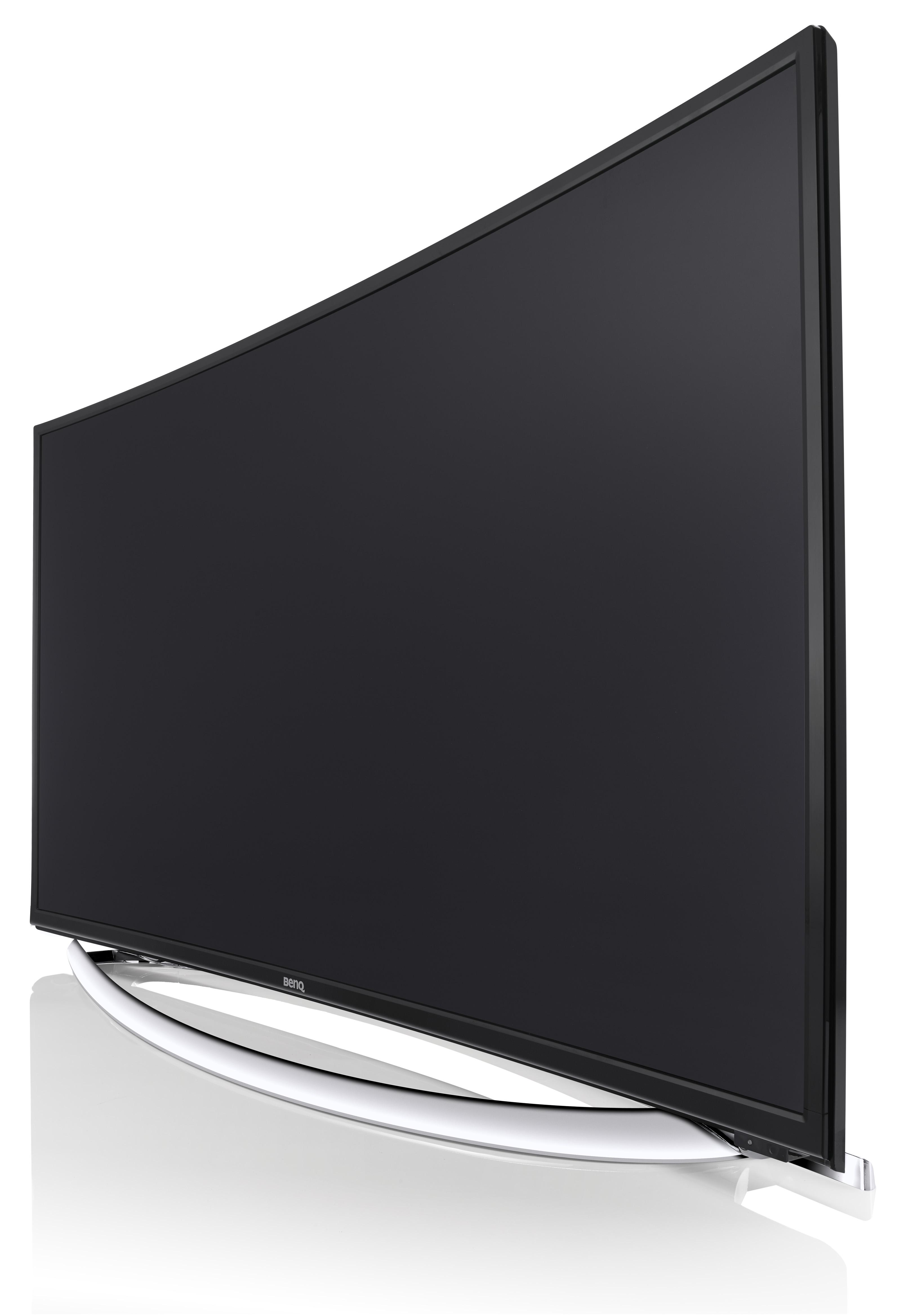 LED FHD曲面超絢彩黑湛屏大型液晶顯示器
