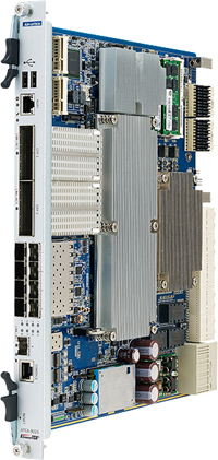 ATCA 100GbE Switch Blade Supports Up to 2x100GbE and 8x10GbE Slots / Advantech Co., Ltd.