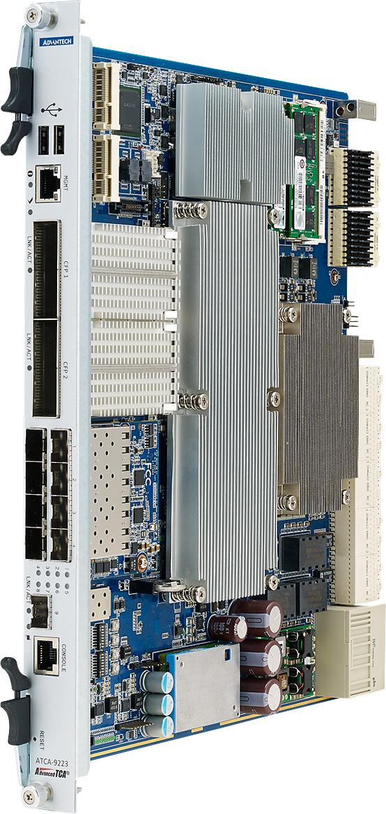 ATCA 100GbE 先進通信主機板