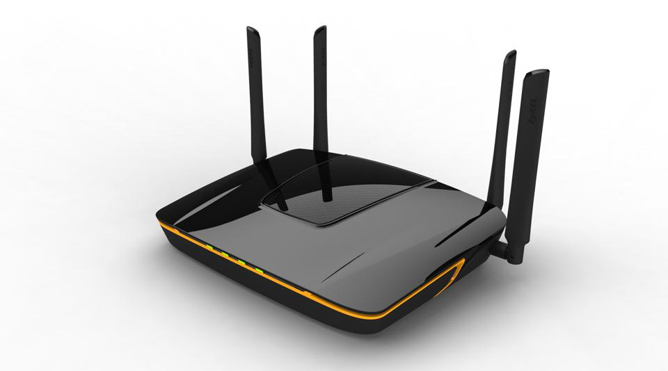 Simultaneous Dual-Band Wireless AC2350 Media Router