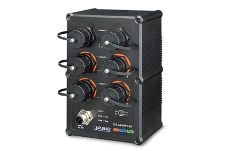 工業級防水智慧型高功率PoE交換器 / 普萊德科技股份有限公司