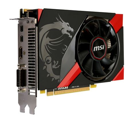 Mini ITX High Performance Gaming Graphics Card / Micro-Star International Company Limited