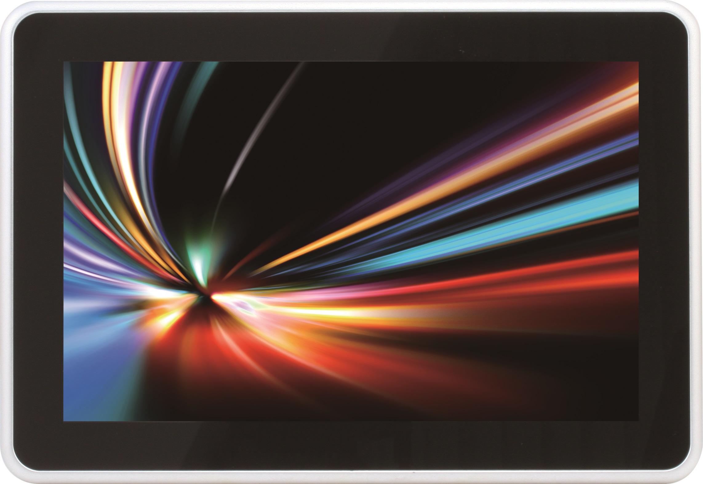 10.1吋輕薄式工業等級電容式觸碰螢幕