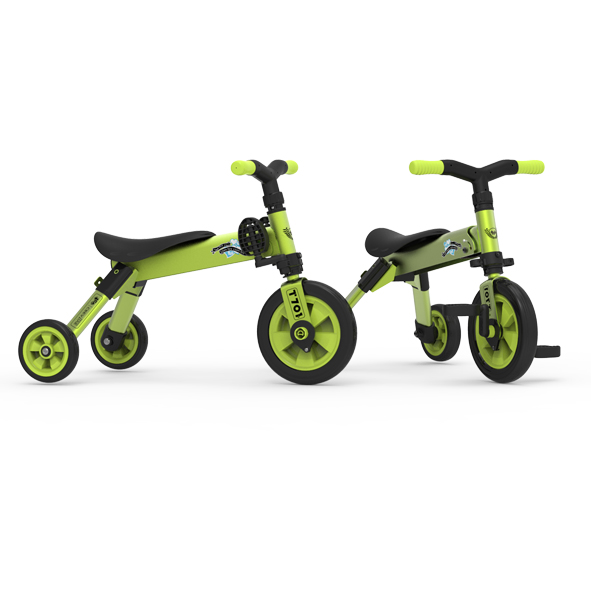 Folding 2 in 1 tricycle balance bike / TCV INDUSTRIAL CO., LTD.