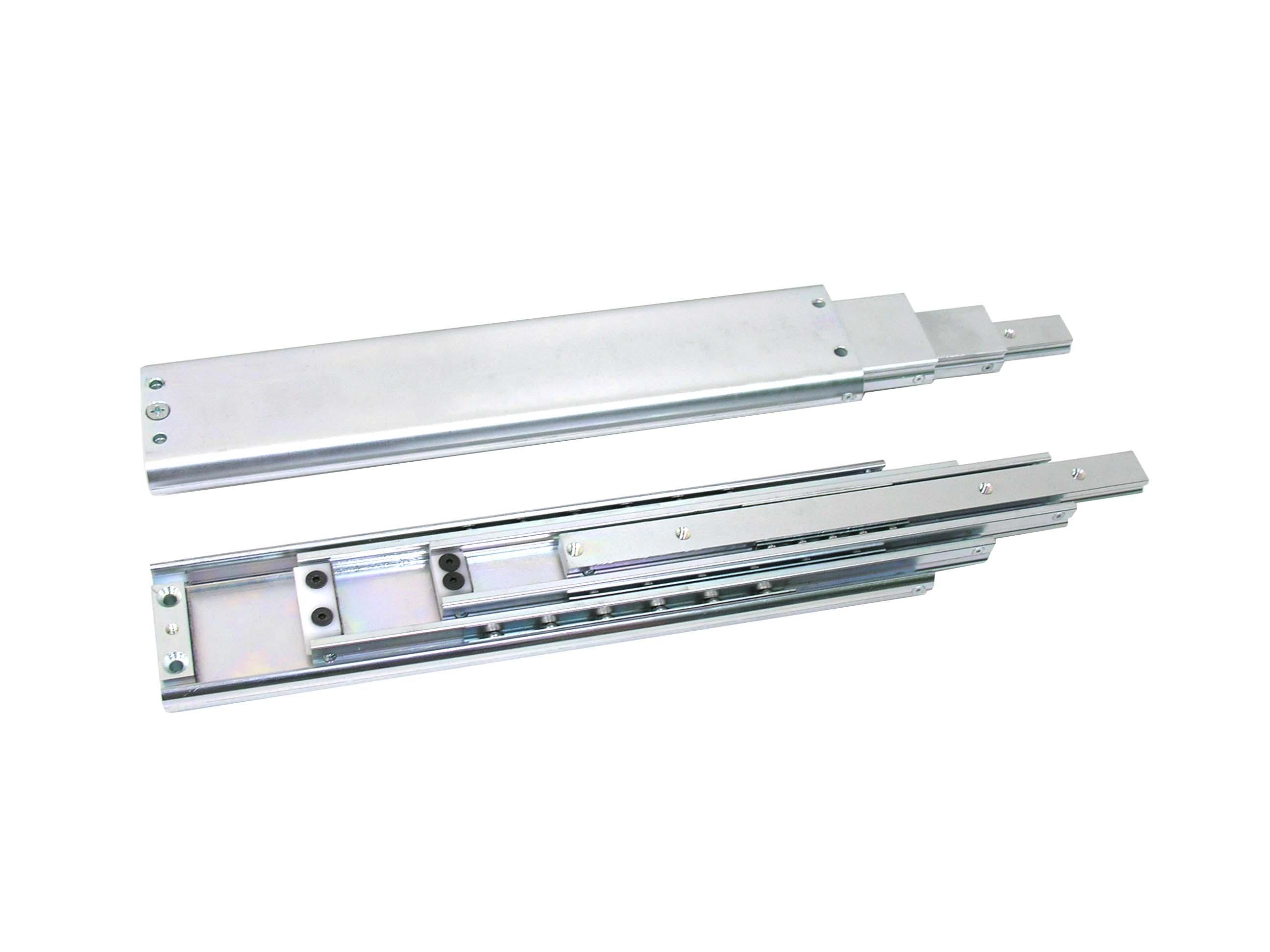 telescopic linear ball bearing rail
