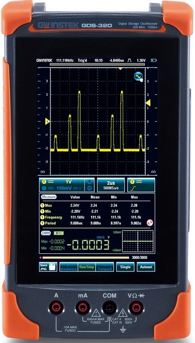 全觸控型數位式示波器 / 固緯電子實業股份有限公司