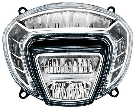 變形金剛全LED機車頭燈  / 堤維西交通工業股份有限公司