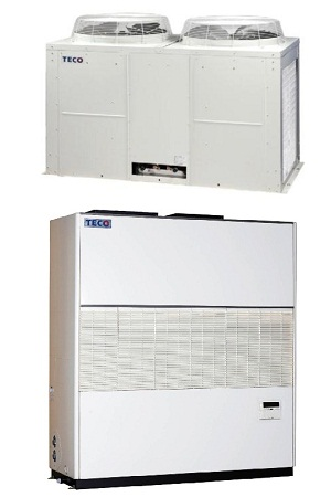 Smart healthy green energy commercial air conditioning units / TECO ELECTRIC & MACHINERY CO., LTD.
