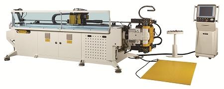 7 軸全電控制左右共向彎管機 / 和和機械股份有限公司