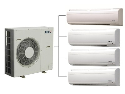 Smart networked inverter 1 to 4 multi air-conditioner / TECO ELECTRIC & MACHINERY CO., LTD.