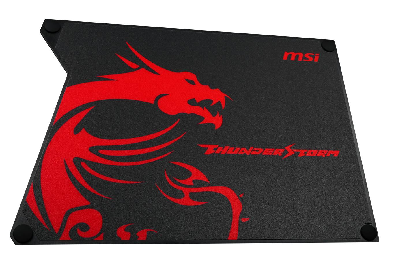 Aluminum GAMING Mouse Pad / MICRO-STAR INTERNATIONAL CO.,LTD.