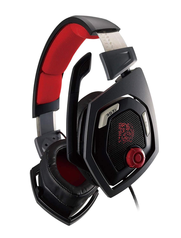 震撼者3D 7.1 全景立體環繞聲 電競耳機 / 曜越科技股份有限公司
