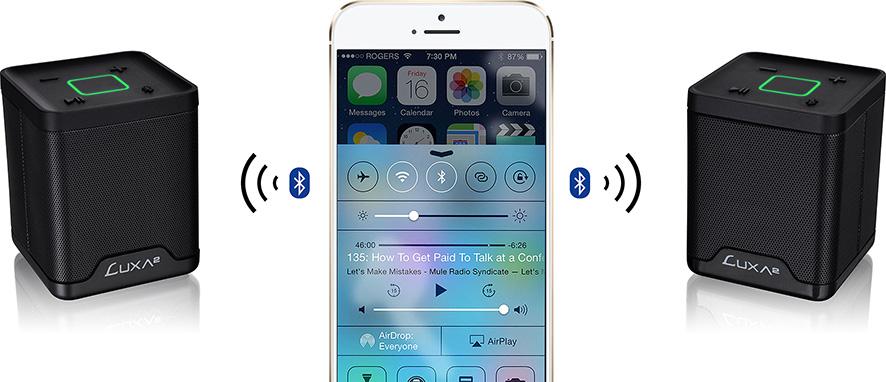 酷韻Duo雙聲道立體聲無線藍芽喇叭  / 曜越科技股份有限公司