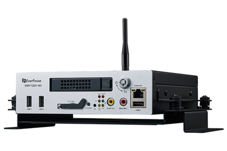 12 Channels HD Mobile DVR / EverFocus Electronics Corp.