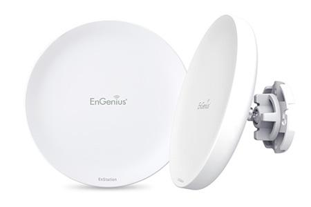 EnStation戶外型長距離無線網路用戶終端設備 / 神準科技股份有限公司