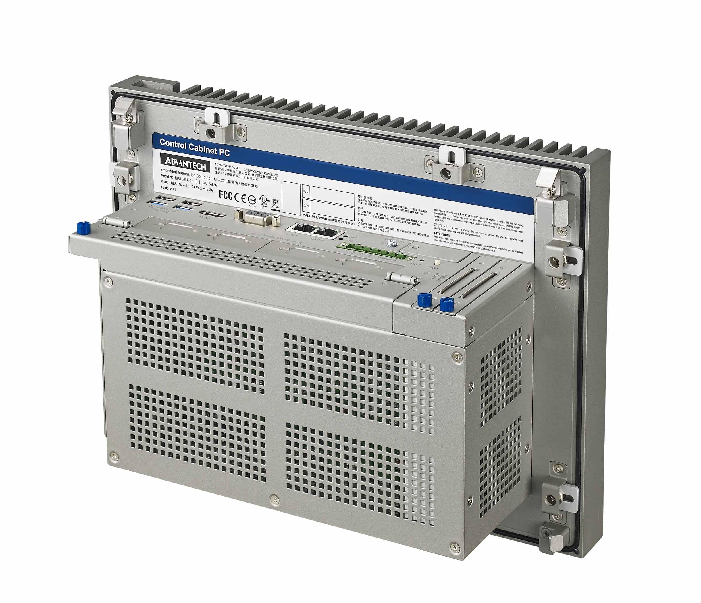 控制櫃用無風扇工業電腦
