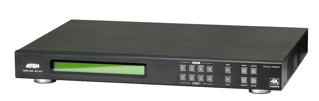 4x4 4K HDMI矩陣式影音切換器搭載升頻器功能 / 宏正自動科技股份有限公司