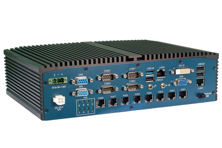Rich I/O Embedded PC for Transportation / Protech Systems Co., Ltd.
