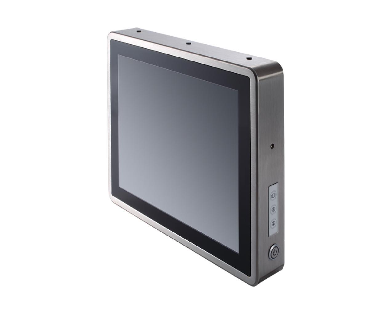 15吋全機IP66防水防塵無風扇多點觸控不銹鋼平板電腦 / 艾訊股份有限公司