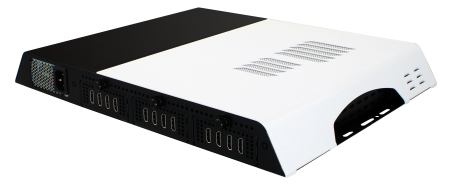Extreme Performance 8K/12K Digital Signage Player with Twelve HDMI / IBASE Technology Inc.