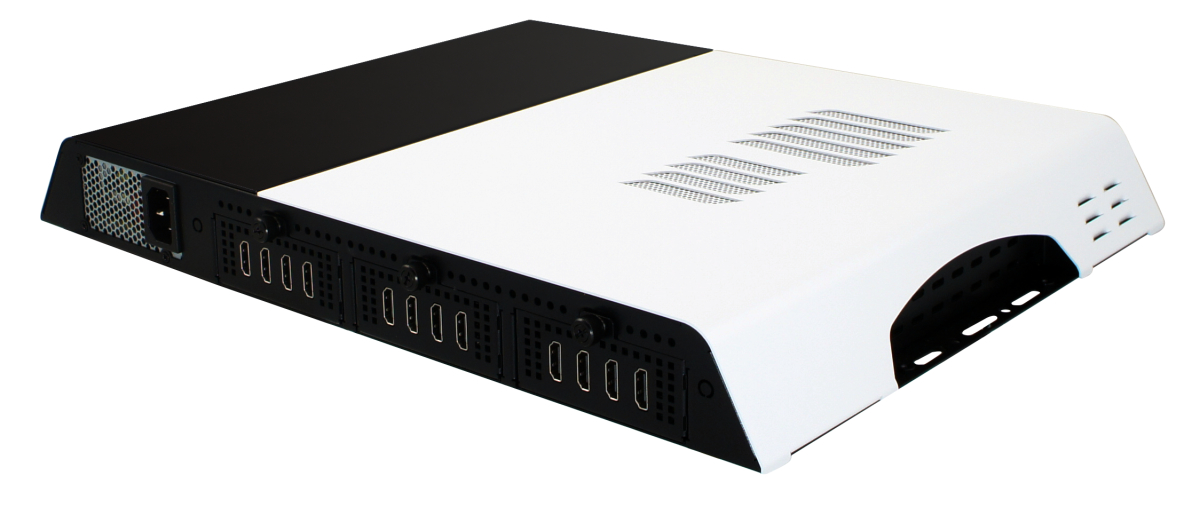 Extreme Performance 8K/12K Digital Signage Player with Twelve HDMI