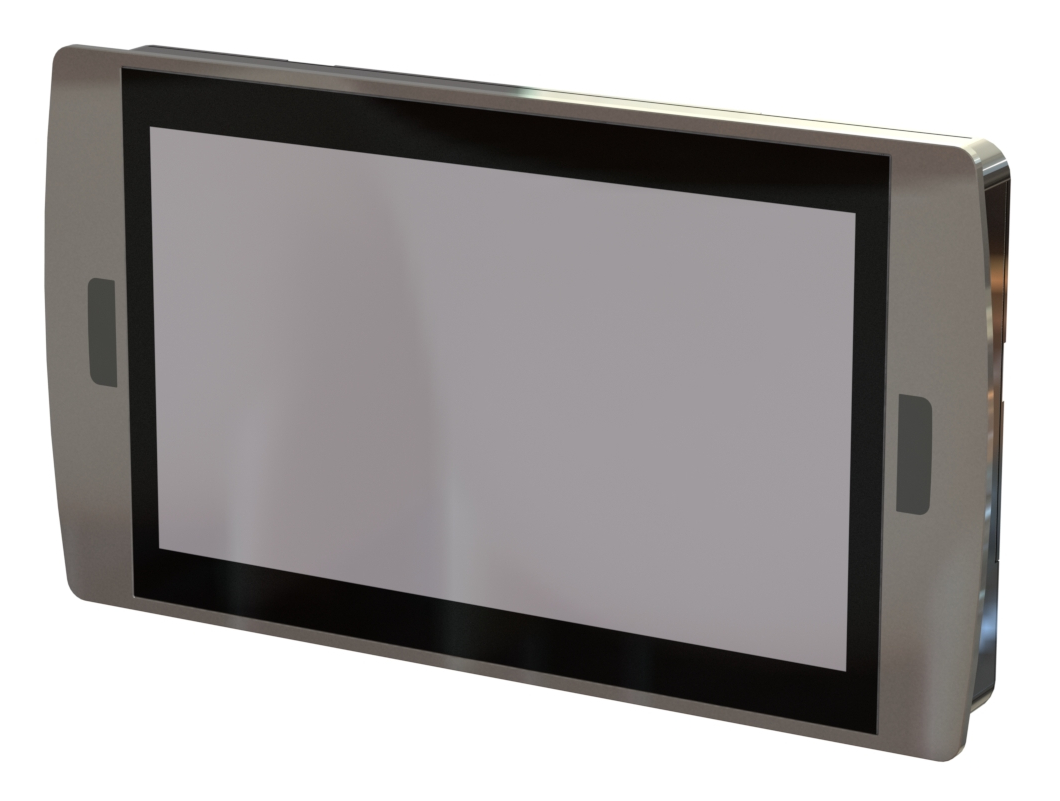 Wireless Communication Full Flat Industrial Touch Panel Computer