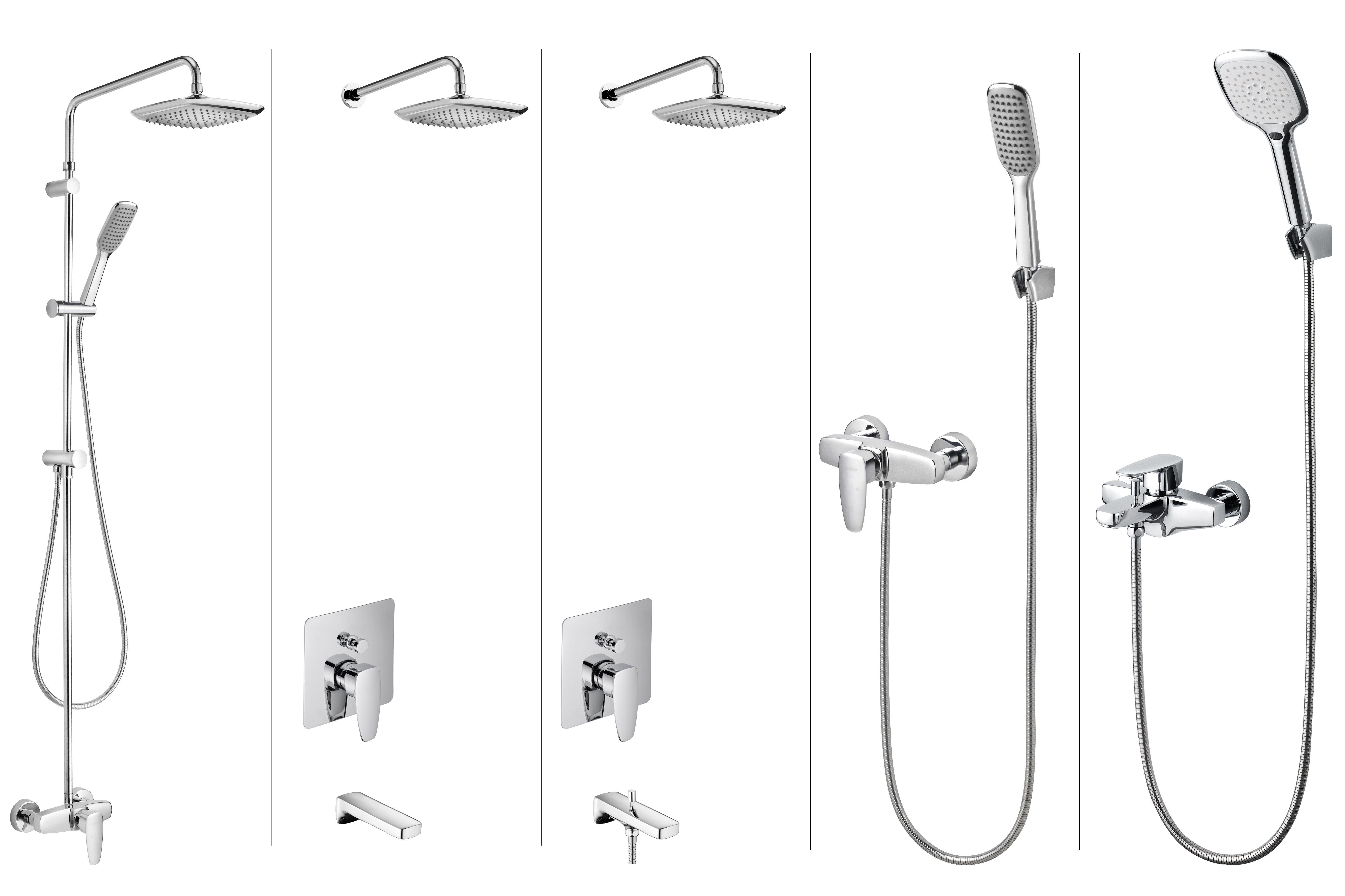 PAN2 Bath/Shower Mixer family