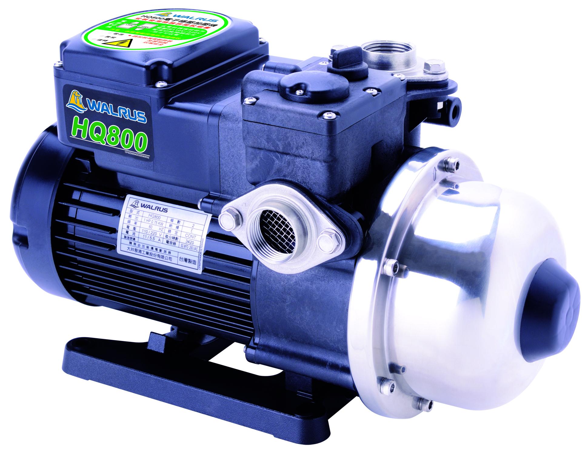 WALRUS PUMP CO., LTD.-Electronic Control Pump