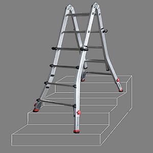 專業多用途可調式鋁梯 (無限梯) / 多惠企業有限公司