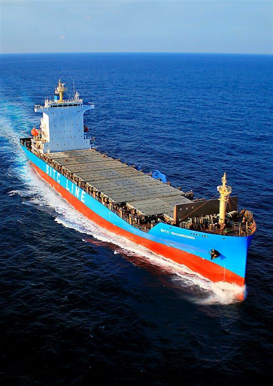 1,800TEU 貨櫃輪 / 台灣國際造船股份有限公司